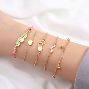 Layered Bracelet Gold Plated